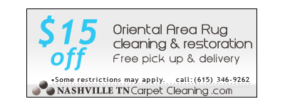 oriental & area rug cleaning Nashville,TN